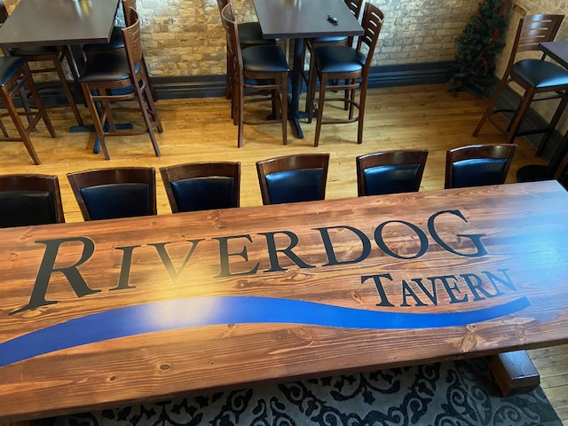 11 ft Viking Table with Logo - Customers Love it!