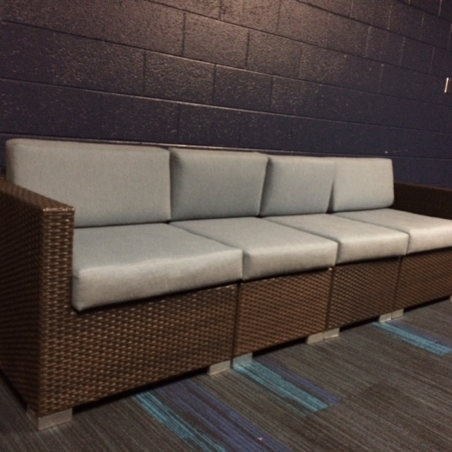 Student Lounge at a Mega Church