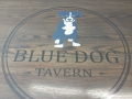Blue Dog Table