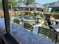 Cool outdoor patios are our specialty